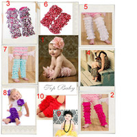 Wholesale Lace Baby Leg Warmers girls leggings infant socks kneecap stocking leg warmer TUTU sockings tights