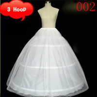 Wholesale Cheapeat Hoop tulle Wedding Bridal Gown Dress Petticoat Underskirt Crinoline Wedding Accessories SD
