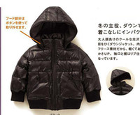 Wholesale Baby Boys Designer Clothes Boys Winter Clothing Boys Coat with Cap Down Jacket Winter Jacket color