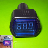 battery voltage gauge - Digital LED Car Truck System Battery Voltmeter Voltage Gauge Volt Meter V V