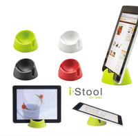 Wholesale Tablet PC Stand Phone Holder IStool For Ipad EBook Backet Mobile Phone Holder