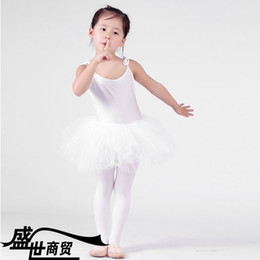 Wholesale Girls Leotard Dance Ballet Ruffle Skirt TUTU Dancing Dress new