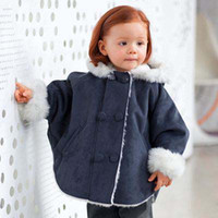 Wholesale Children Clothing Kids Poncho Children Clothes Baby Girls Wear Winter The Poncho For Kids Fashion