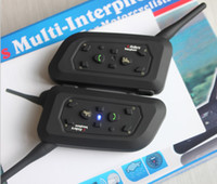 Wholesale Interphone bluetooth Motorcycle Helmet intercom Headset bluetooth interphone TE a