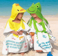 Wholesale children cute beach towels Children s bathrobes