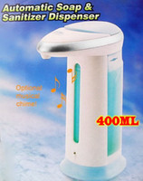 Wholesale Hot factory direct sales Chrome Automatic Liquid Soap Shower Gel Soap Dispenser INFRARED SENSOR