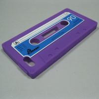 Compra Cubierta de la piel del caso iphone5-iTape Retro cassette de la cubierta silicón de la cinta caja de la piel de la contraportada para el nuevo iPhone 5 iPhone5 envío libre
