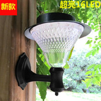 Wholesale 2012 hot solar lights solar wall lamp the European garden lights garden lights outdoor lights