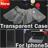 Wholesale Crystal Clear Transparent Hard Plastic Case Cover For iphone s Iphone Air inch Samsung s4 s5 S6 Note HTC M9