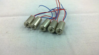 Wholesale 6 Mini Coreless Motor RPM electrical motor for micro vibration motor rc heli part diy toys