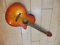 Wholesale Musical Instruments New chinese guitar Acoustic Electric Guitar pick up EQ SUNBURST