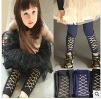 2-9year baby corduroy fabric - Children Leggings Girls ballet Leggings girl pant baby girls fabric covered elastic waistband charmi