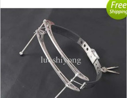 1pcs Tower of Pain Stainless Steel Circular Nipple Clamps adjustable