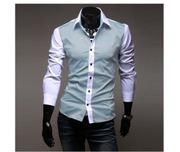 Wholesale men s wear long sleeve shirt shirt man shirt cultivate one s morality shirt male