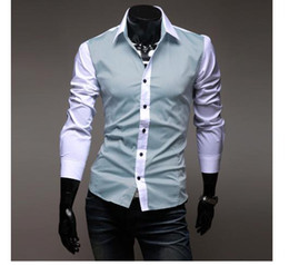 Wholesale Men s wear long sleeve shirt shirt man shirt cultivate one s morality han2 ban3 shirt male