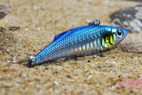 Wholesale 2012 Hot Sell VIB Minnow Fishing Lures fishing tackle Mix Order Soft bait cm g