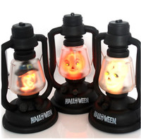halloween skeleton - Hot Hand Carry Halloween night light music ghost light Pumpkin Witch Skeleton