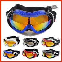 Wholesale New Arrial Children s Ski Googles Anti fog Ski Glasses Children s Cycling Goggles MG64B