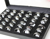 Wholesale Rings Jewelry Stainless Exquisite box steel Rings Jewelry SR17 SR18 SR19 SR20