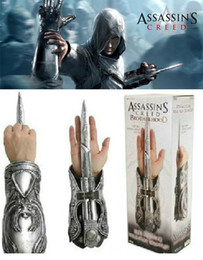 Wholesale NECA Assassin s Creed II III Ezio Vambrace Gauntlet Extension Knife Hidden Blade Bracer Original