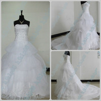 wedding dresses 2011 - Actual Images New Wedding Dresses Bridal Gown Bridal Dresses Strapless Organza