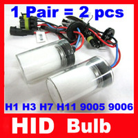 Wholesale HID Blub xenon lamp single beam H1 H3 H7 H8 H9 H10 H11 HB3 BH4 W k k k