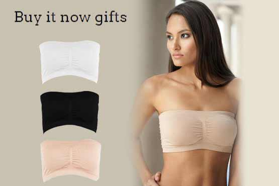 2017 Promotion Strapless Tube Top Bandeau Removable Padding Bra ...