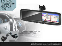 Wholesale special rearview mirror with gps navigation and supprots car camera auto dimming FOR Land Rover