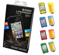 Wholesale Waterproof Case Cell Phone Cases Water Dirt Snow Shock For iPhone S