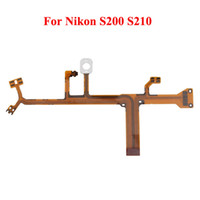 Wholesale Camera Lens Flex Cable For Nikon S200 S210 New Yellow