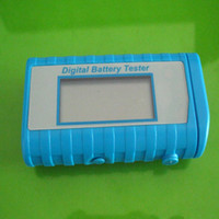 Wholesale New Digital Battery Tester Checker AA AAA C D V Button