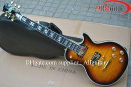 Wholesale supreme desert sunburst ebony fingerboard electric guitar China Guitar Deluxe