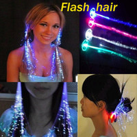 Wholesale Flash Braids Luminous Hair The explosive Influx LED Headdress Masquerade Festival Props