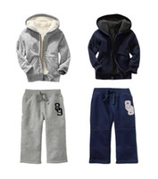 Wholesale Cotton Children Sports Set Winter Kids Wear New Arrivals Cheap Price Baby tracksuits Clothing