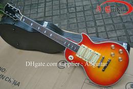 Wholesale sunburst Ace frehley mahogany body electric guitar China Guitar