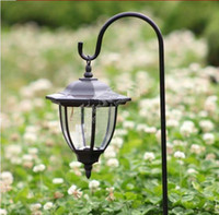 IP44 Garden  2016 new 4 LED hexagonal solar chandelier solar lanterns lights garden solar led lawn light have 4 pcs LED light