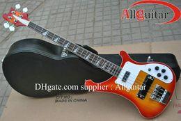Wholesale 4003 Model strings bass Sunburst electric bass guitar HOT SALE