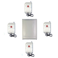 Wholesale 4 Channels MHz DC V V V Wireless Remote Switch Transmitters to Receiver