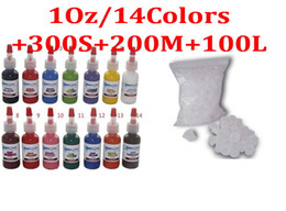 Wholesale Complete Tattoo Ink Set Kit OZ Colours Starbrite Tattoo Ink Tattoo Ink Cup Caps