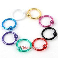 Wholesale 56pcs Mixed Body Jewelry Colorful Piercing Stainless Eyebrow Nail NEW Ear Plug Rings