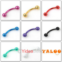 Wholesale 56pcs Mixed Lip Nail Body Jewelry Colorful Piercing Stainless NEW Ear Plug Rings