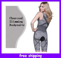 Wholesale Stretch Fashions Natural Bamboo Charcoal Body Shaper Underwear Slimming Suit bodysuits
