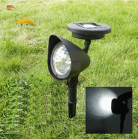 Wholesale Outdoor LED Solar Powered Light Garden Spotlight Landscape Spot Light Lawn Light