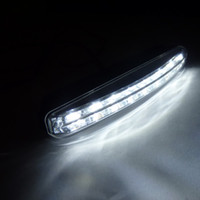 Wholesale New Universal Euro X Car LED Driving Lamp Daytime Running Day LED Light Head Lamp Super White