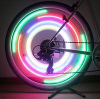 Wholesale 10pcs Bicycle wheel lamp Wheel lamp multi function Bicycle LED Lights Beetle Light