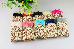 Wholesale Women Underpants Girls Underwear Ladies Briefs Underwear Male Panties Best Cotton Leopard Underpants