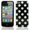 Polka Dot TPU Skin Back Cover Case for iPhone 5 5G