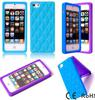 Luxury Bling Diamond Multi-color Silicone Gel Case for Apple Iphone 5 5G