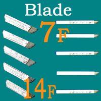 Wholesale 50pcs Permanent Eye Brow Blades Manual Tattoo Makeup Eyebrow Perfect Blade Set XM N50 Supply