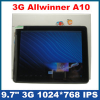 Wholesale 3G Calling WCDMA inch Allwinner A10 GHz G IPS Capacitive Android Tablet PC WiFi HDMI